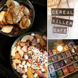 Cereal Killer Cafe Shoreditch Menu